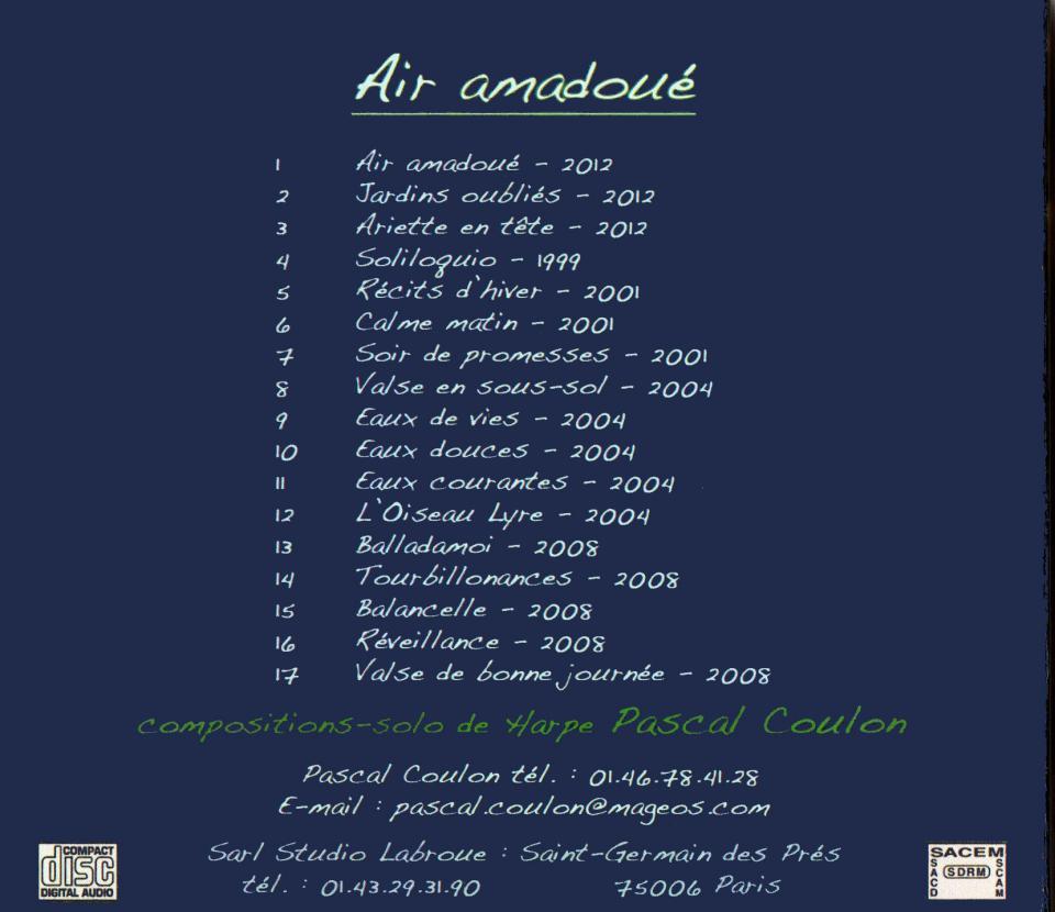 2012 - Air amadoué