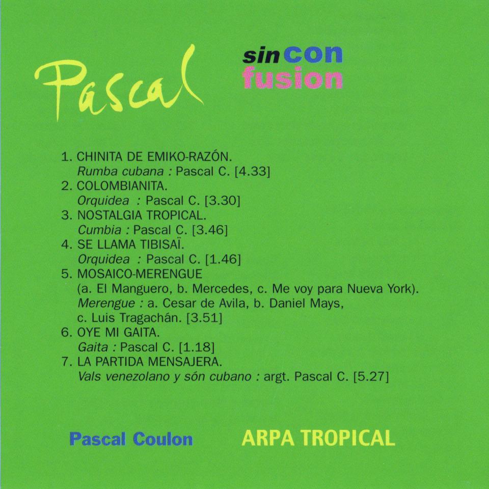 1999 - Pascal Sin con Fusion