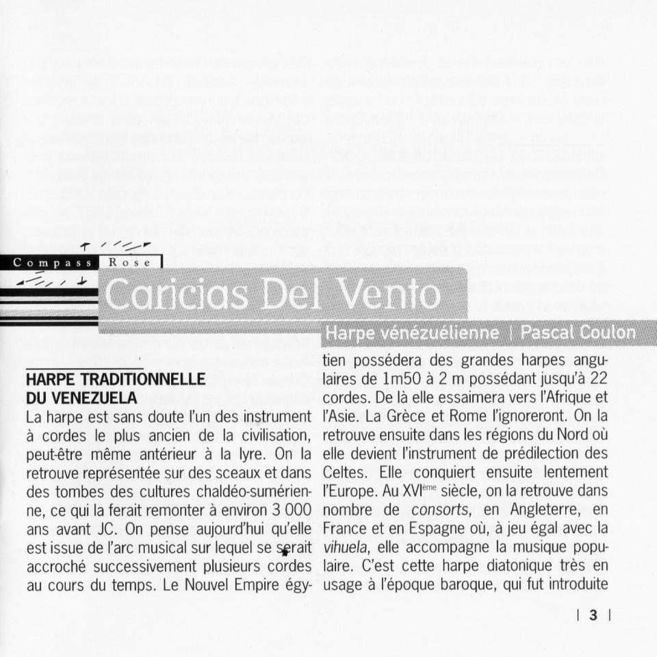 1997 - Caricias del Viento