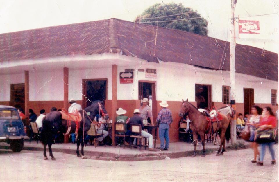 centre-ville dans les Llanos