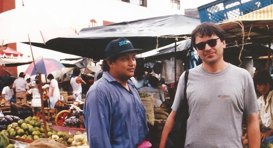 """Raúl Gonzales """"Numerao"""" en Colombie (1992)"""