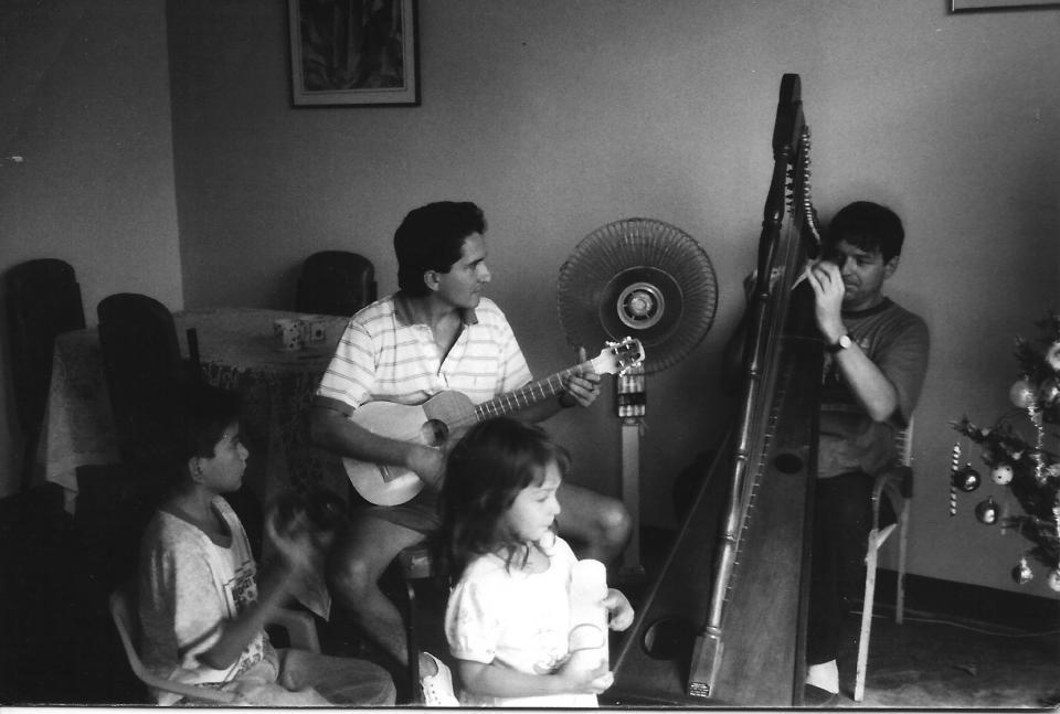 chez Abdul Farfan à Arauca en Colombie (1995)