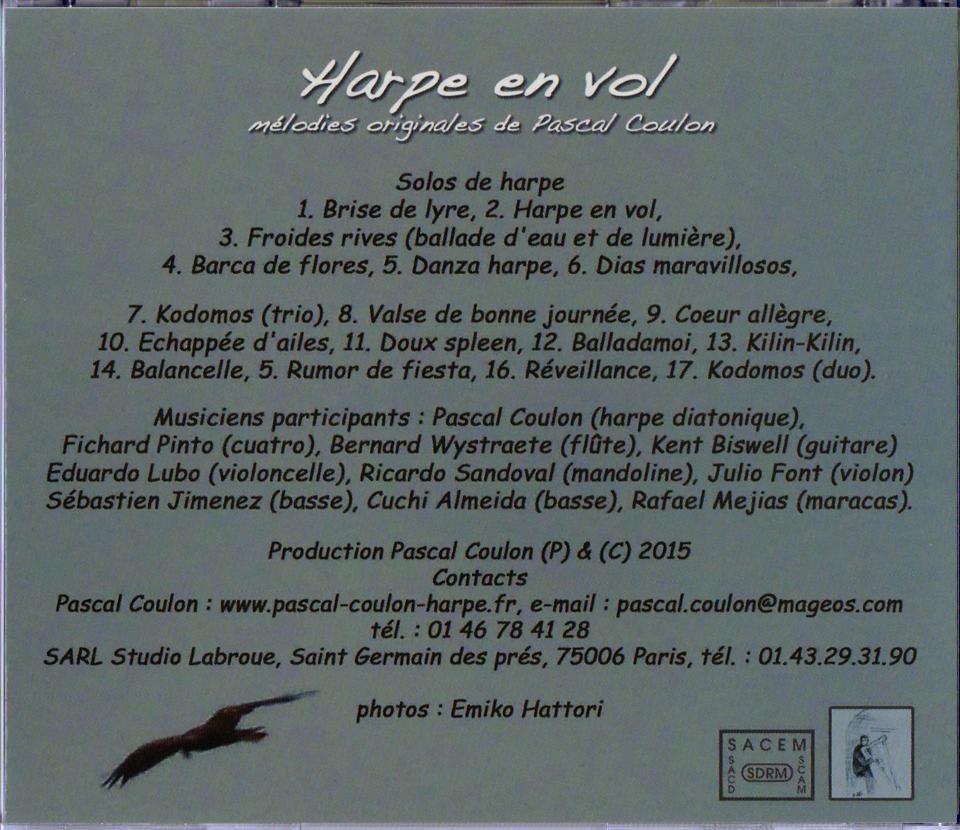 Harpe en Vol