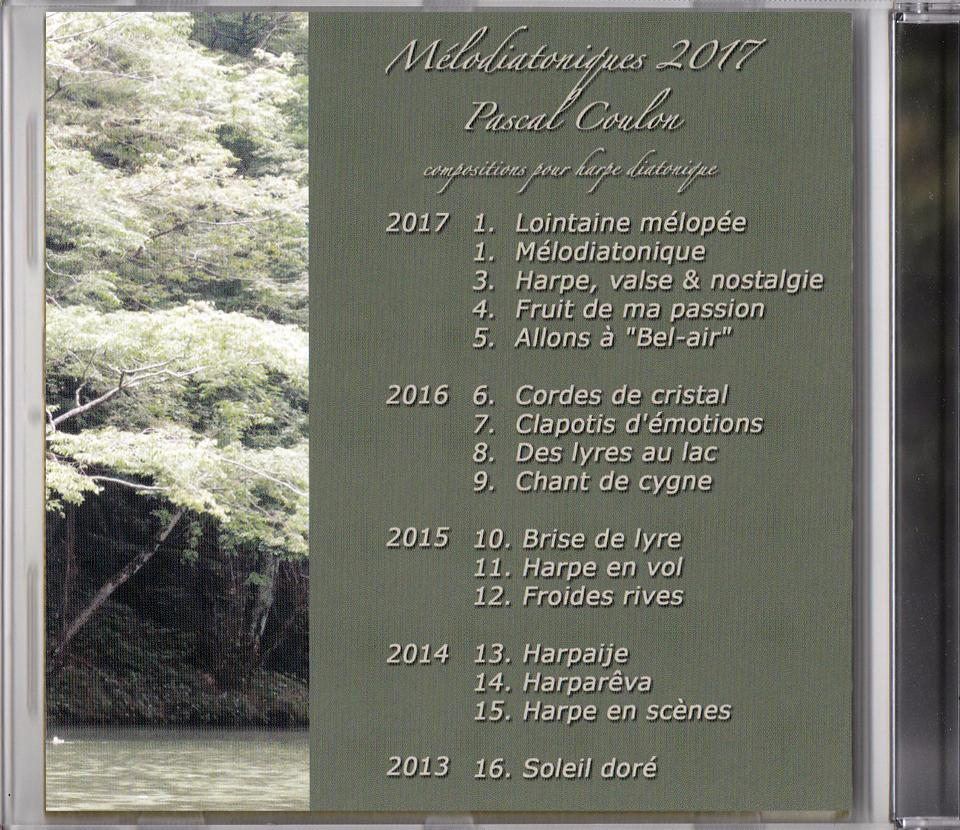 2017 - Mélodiatoniques