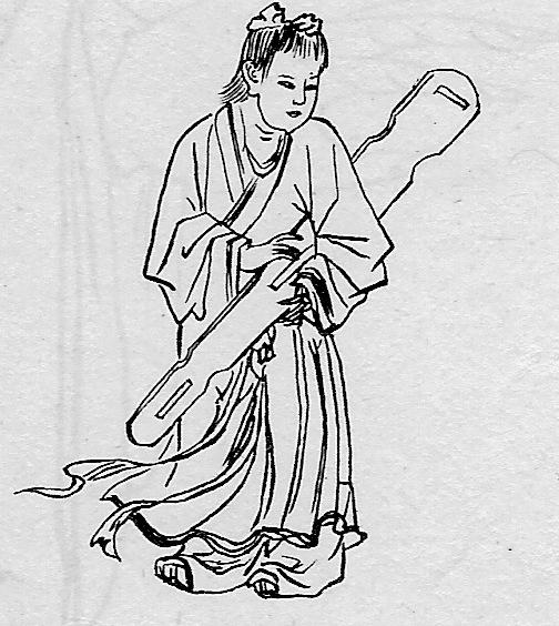 """Du koto au Ku-Chin 古琴 cela va de """"soie"""""""