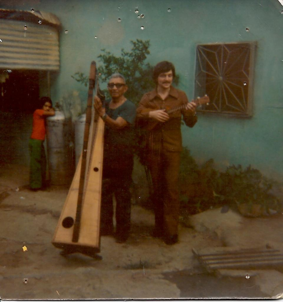 avec El Indio Ignacio Figueredo (1974)